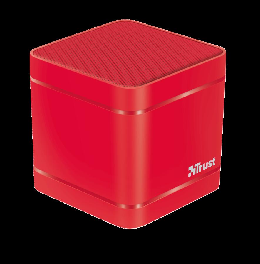TRUST Kubo Wireless Bluetooth Speaker - red