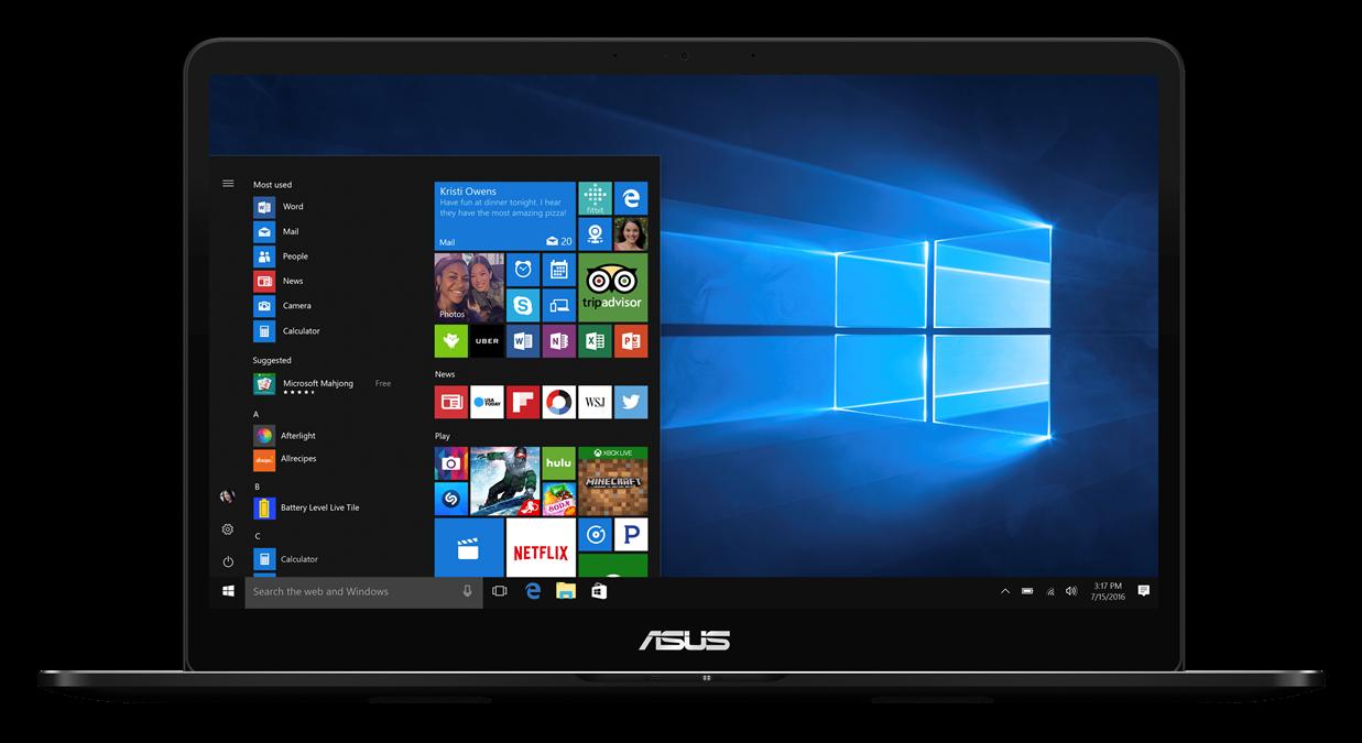 "ASUS UX550VE-BO104T i7-7700HQ/8GB/512GB M.2 SSD/GeForce GTX 1050 Ti/15,6"" FHD Touch IPS lesklý/BT/W10 Home/Black"