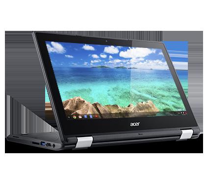 "Acer Chromebook R 11 (C738T-C6P4) Celeron/4GB+N/eMMC64GB+N/HD Graphics/11.6"" Multi-touch HD LCD/Google Chrome/černý"