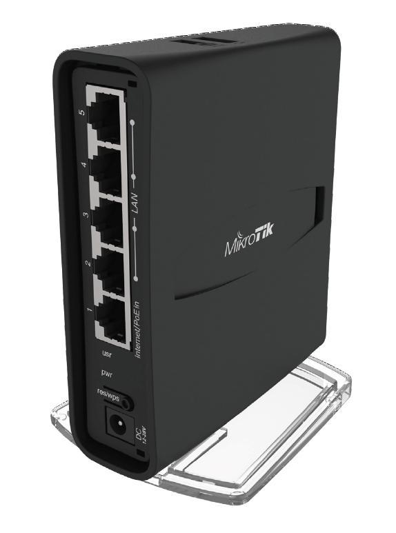 MikroTik RBD52G-5HacD2HnD-TC Duální 2,4/5GHz router hAP ac2 TowerCase
