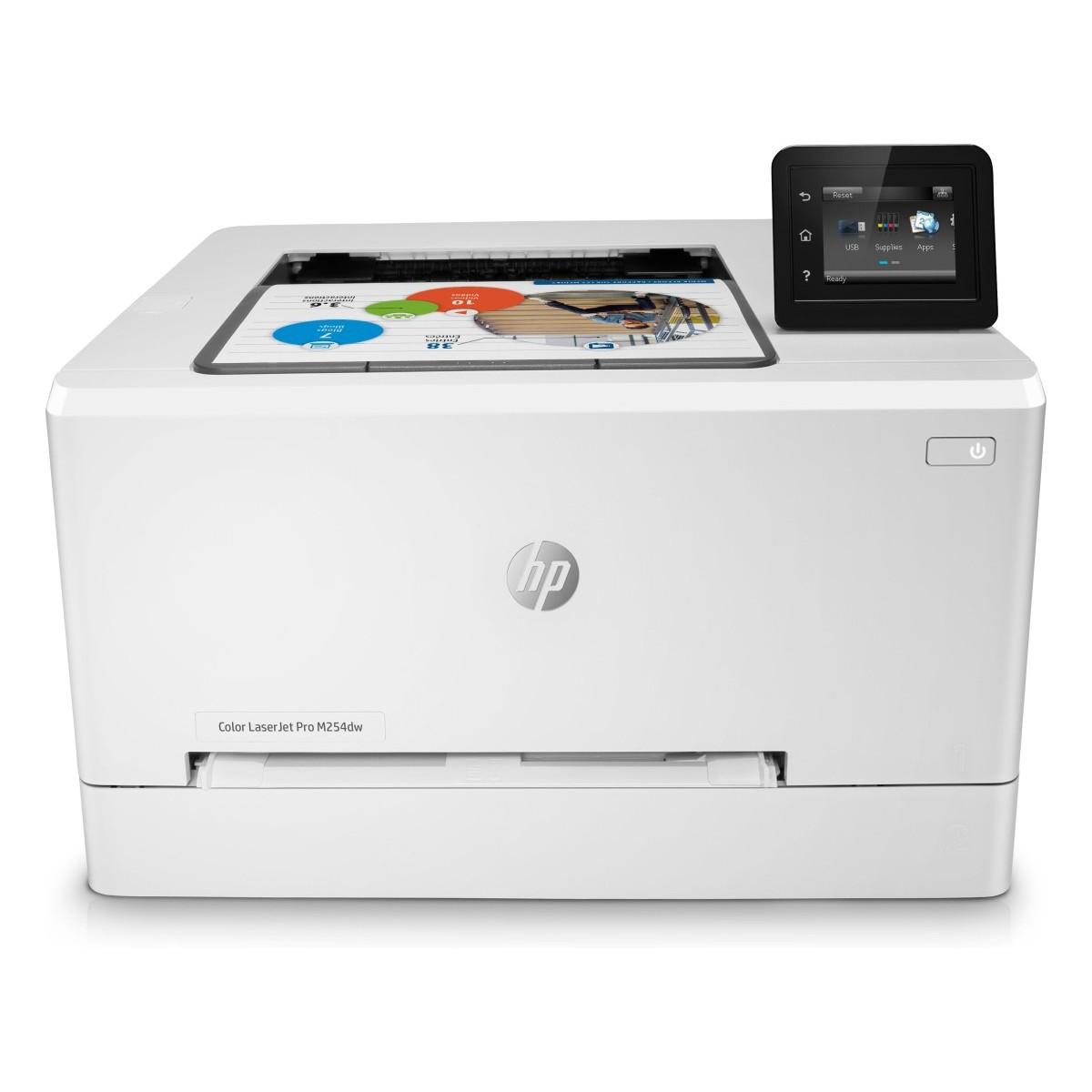 HP Color LaserJet Pro M254dw (A4,21/21 ppm, USB 2.0, Ethernet, Wifi, Duplex)