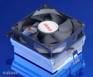 AKASA chladič CPU - AMD - hlinikové jádro