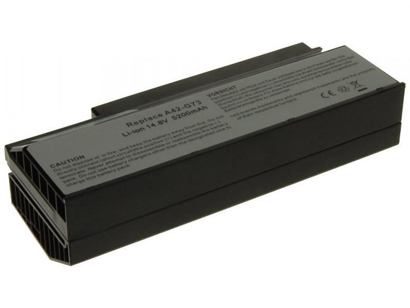 Baterie AVACOM NOAS-G53-S26 pro Asus G53, G73 series A42-G53 Li-Ion 14,8V 5200mAh/77Wh