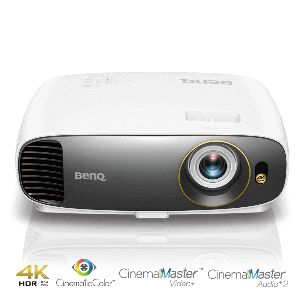BenQ DLP Projektor W1700/3D/4K UHD(3840 x 2160)/2200 ANSI lm/10000:1/D-Sub/2xHDMI/CinematicColor™