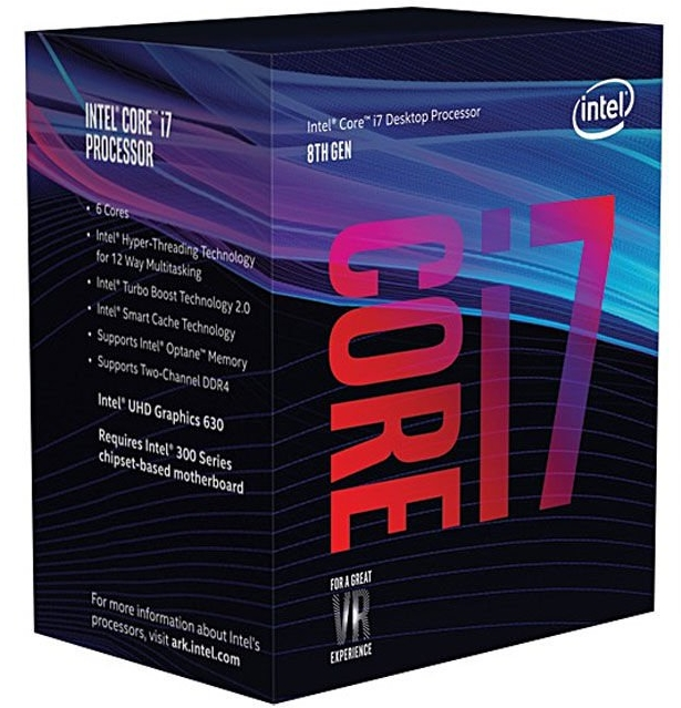 INTEL Core i7-8700 3.2GHz/6core/12MB/LGA1151/Coffee Lake