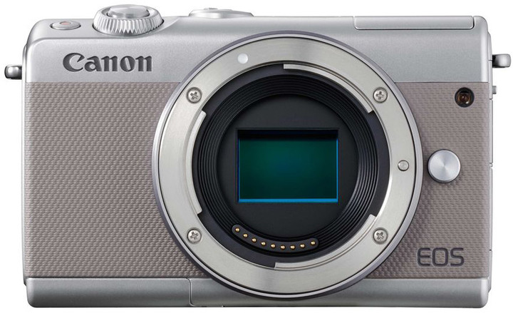 "Canon EOS M100 Body Grey, bezzrcadlovka, 24 MP, 3,0"", WIFI"