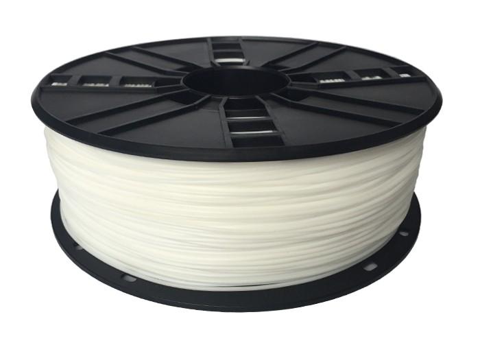 Tisková struna Gembird TPE FLEXIBLE bílá | 1,75mm | 1kg