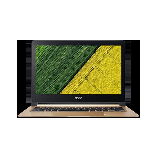 "Acer Swift 7 (SF713-51-M8UB) i5-7Y54/8GB+N/256GB SSD+N/A/HD Graphics/13.3"" FHD IPS lesklý/W10 Home/Black+Gold"