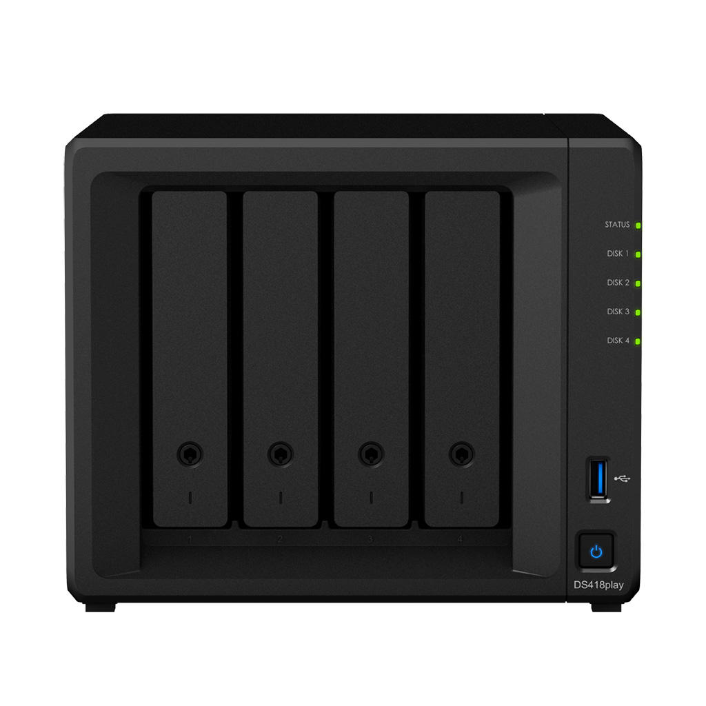 Synology NAS DS418play RAID 4xSATA server, 2xGb LAN