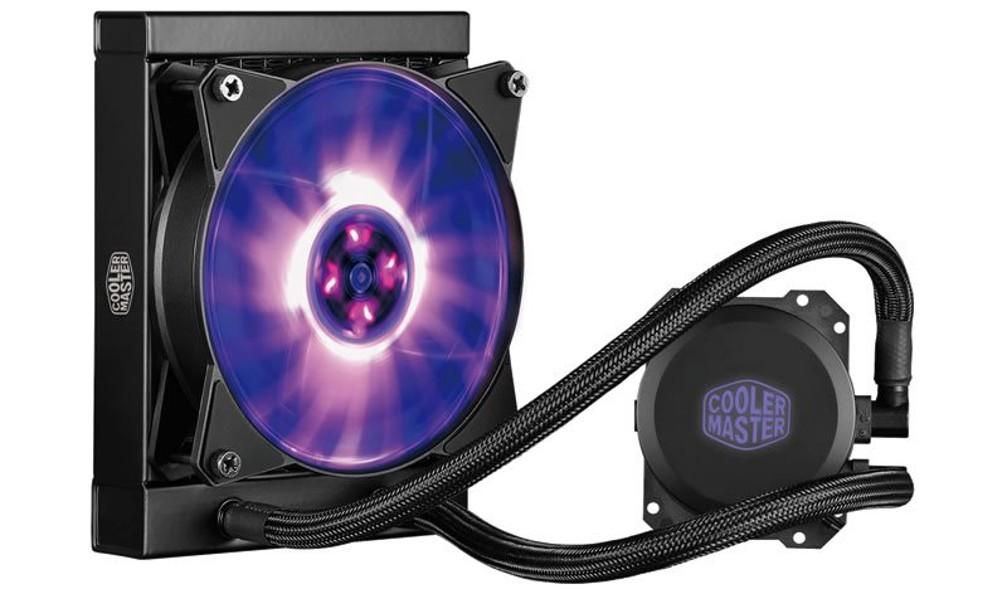 Cooler Master vodní chladič MasterLiquid ML120L RGB, univ. socket, 240mm PWM fan