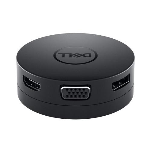 Dell 492-BCJL Mobilní adaptér USB-C na HDMI/DP/VGA/Ethernet/USB-C/USB-A – DA300