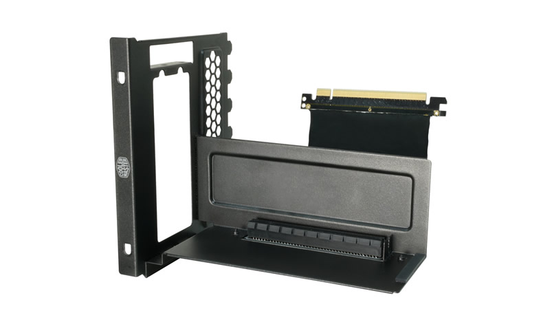 Cooler Master sada pro vertikální montáž grafické karty (včetně Riser karty)