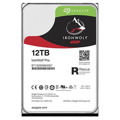 HDD 12TB Seagate IronWolf Pro 256MB SATAIII NAS 5R