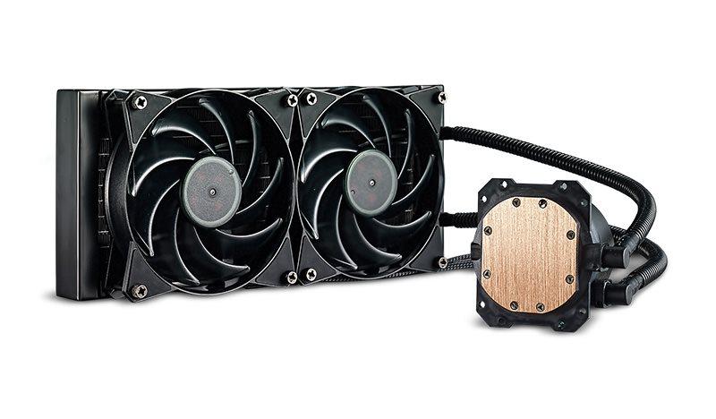 Cooler Master vodní chladič MasterLiquid 240, univ. socket, 120mm PWM fan