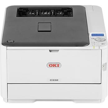 OKI C332dnw, A4, 30/26 ppm, ProQ2400 dpi, 1GB RAM, PCL+PS, USB 2.0 + LAN + WIFI, duplex