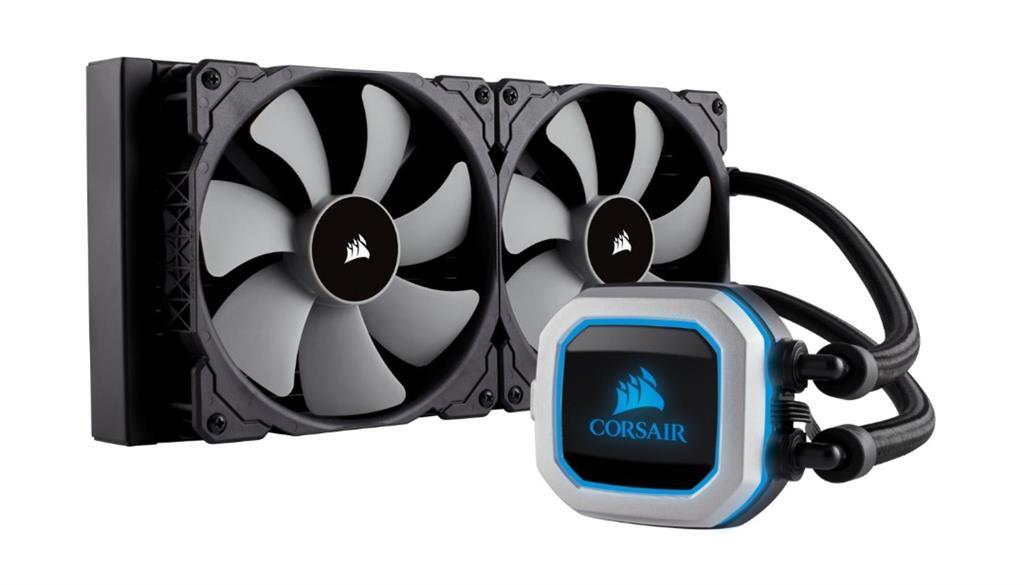 Corsair bezúdržbové vodní chlazení CPU Hyrdo Series H115i Pro RGB, 2x140mm vent.