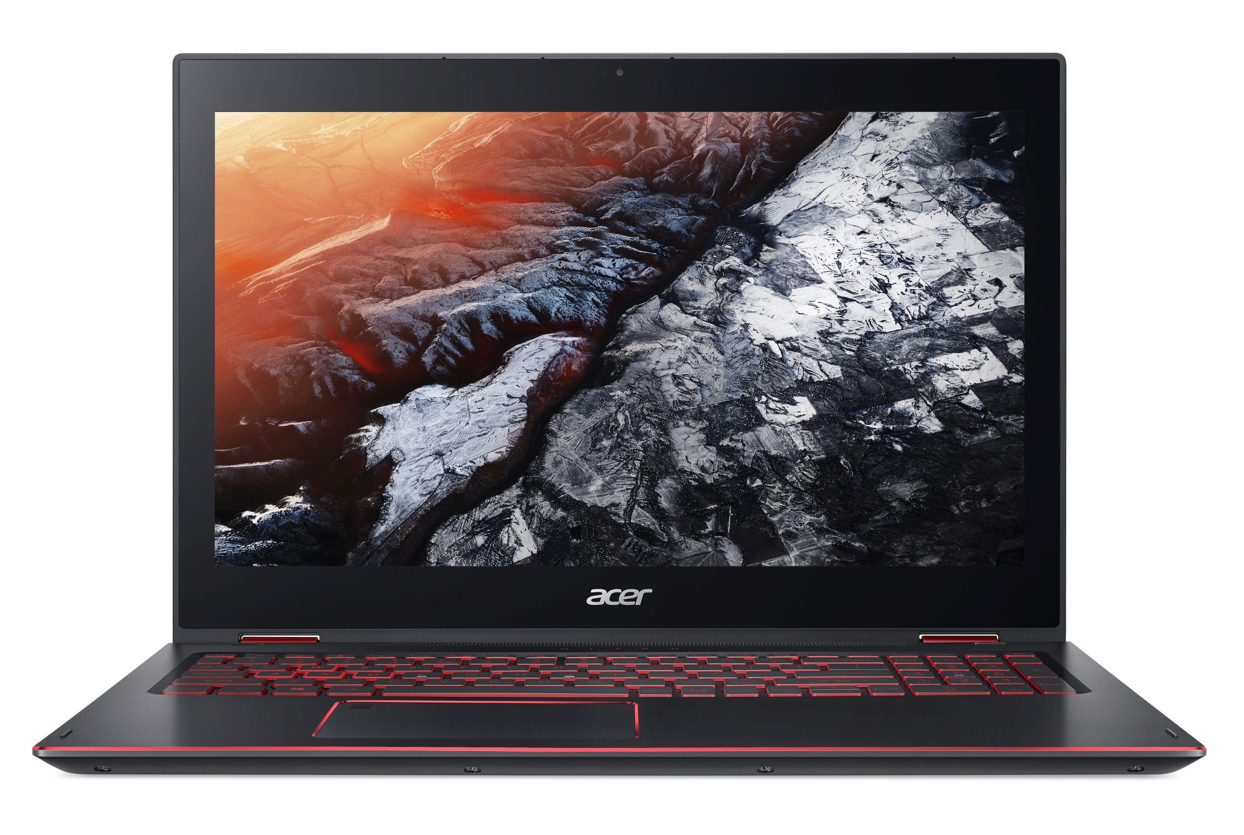 "Acer Nitro 5 Spin (NP515-51-84FZ) Core™ i7-8550U/16GB/512GB SSD+2TB/15.6"" FHD IPS Mulit-Touch LCD/GF FTX 1050/ W10 Home/Black"