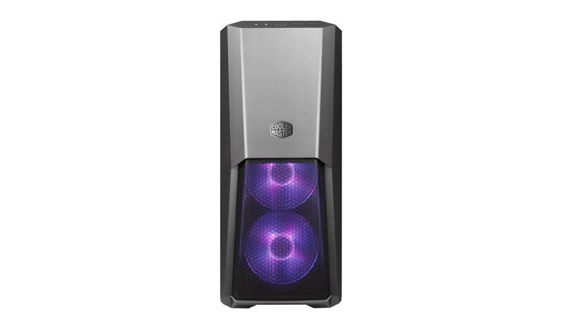 Cooler Master MasterBox MB500, ATX, Micro-ATX, Mini-ITX, 2x USB3.0, bez zdroje, černý