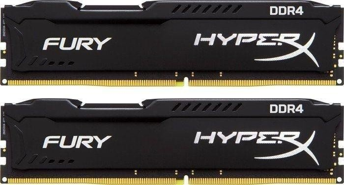 Kingston DDR4 32GB (Kit 2x16GB) HyperX FURY DIMM 3466MHz CL19 černá