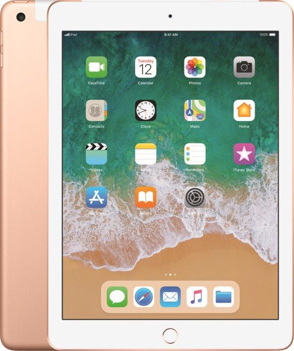 iPad Wi-Fi + Cellular 32GB - Gold