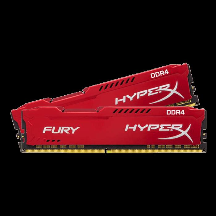 32GB DDR4 2400MHz CL15 DIMM HyperX FURY Red, 2x16GB