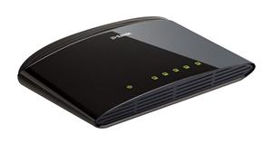D-Link DES-1005D/E 5-Port 10/100Mbps Fast Ethernet Unmanaged Switch