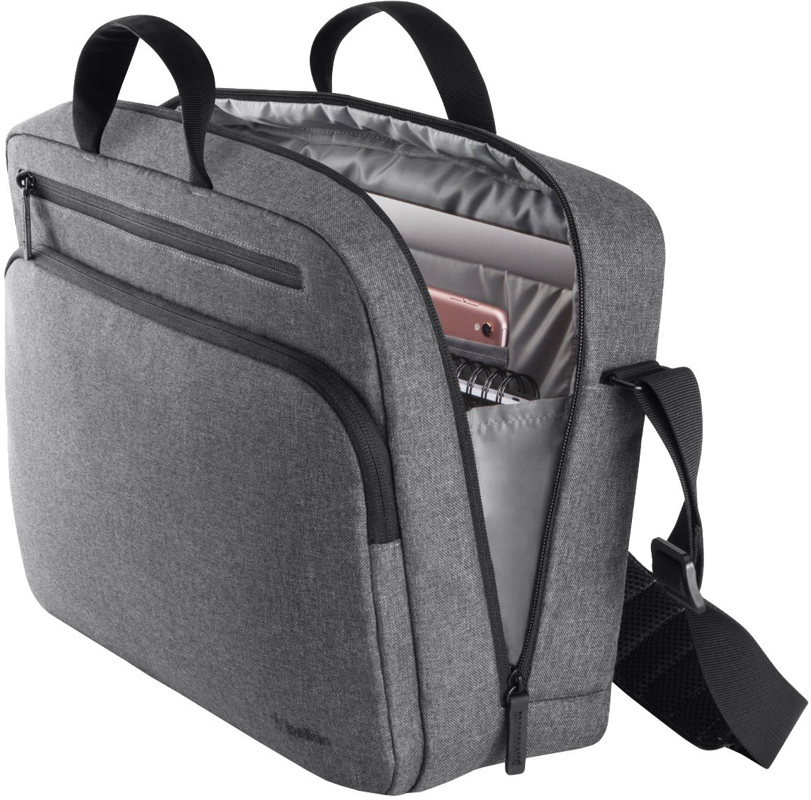 "BELKIN Brašna 15,6"" Classic Pro Messenger Bag - GREY"