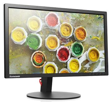 """Lenovo LCD T2254p Wide 22"""" TN WLED/16:10/1680x1050/250cd-m2/1000:1/5ms/VGA+HDMI+DP/Pivot"""