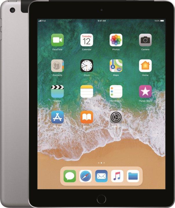 iPad Wi-Fi + Cellular 32GB - Space Grey