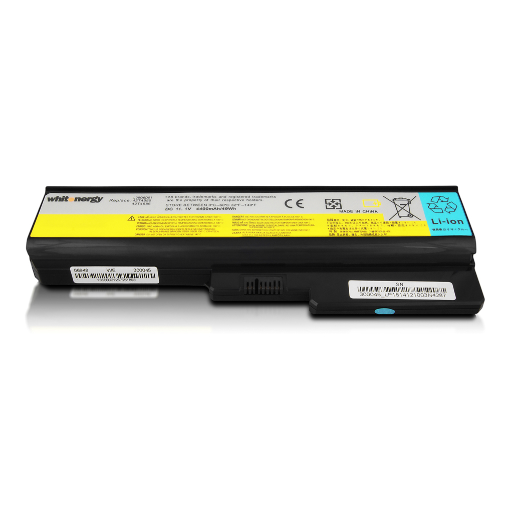 WE baterie pro Lenovo 3000 G530 11.1V 4400mAh