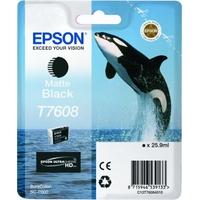EPSON cartridge T7608 Matte Black (kosatka)