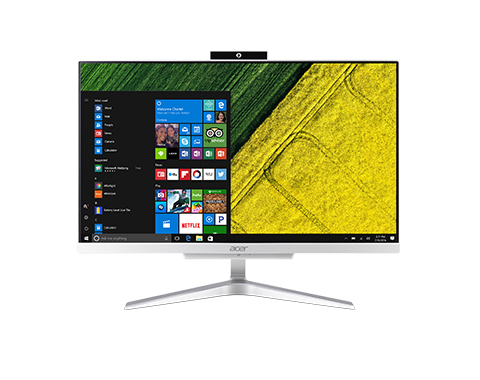 "Acer Aspire C22-860 ALL-IN-ONE 21,5"" LED FHD/ Intel Core i3-7130U /4GB/256GB/DVDRW /Win10Home"
