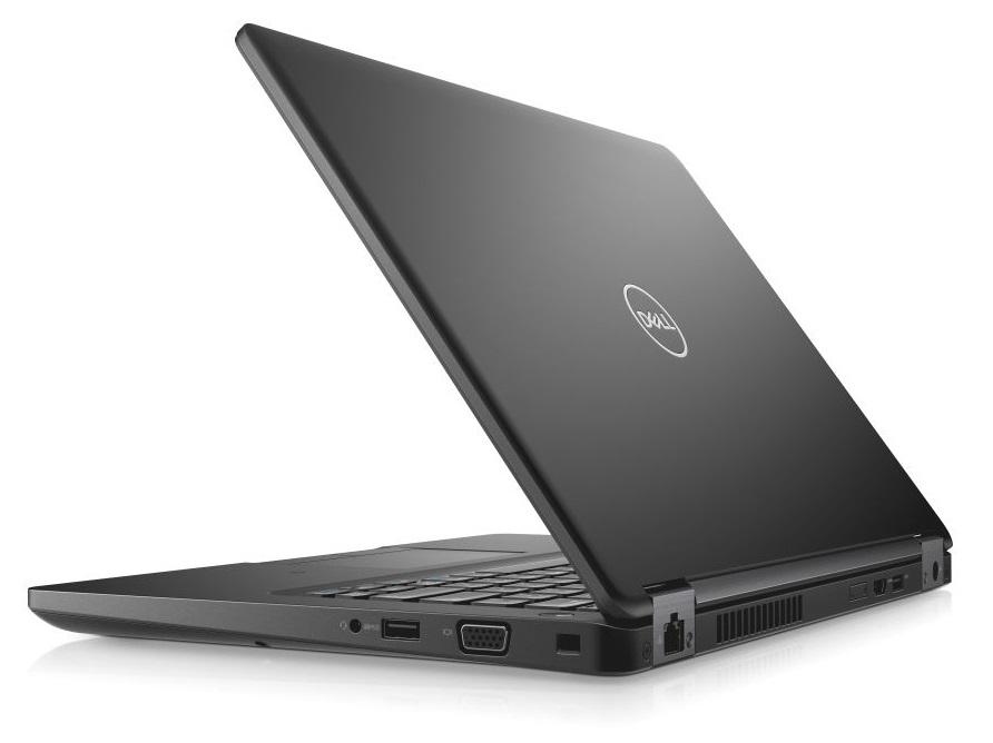 """Dell Latitude 5490 14"""" FHD i5-8350U/8GB/500GB/USB-C/MCR/SCR/HDMI/VGA/W10P/3RNBD/Černý"""