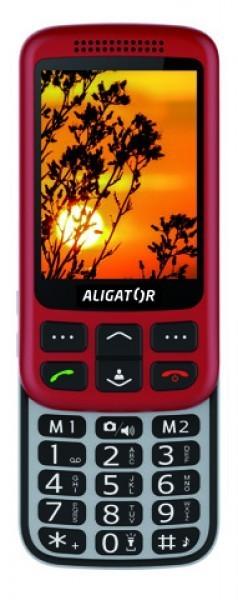 ALIGATOR VS900 Senior červeno-stř+stolní nabíječka