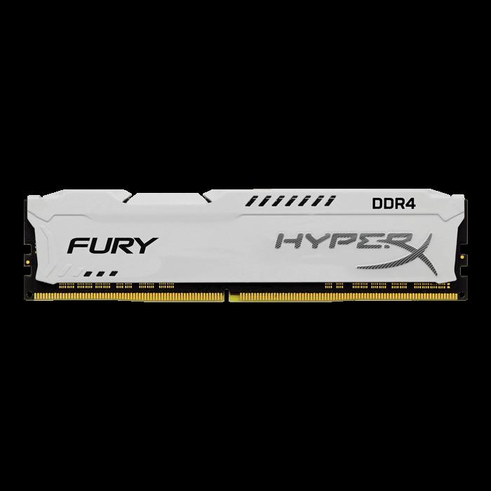 Kingston DDR4 8GB HyperX FURY DIMM 3200MHz CL18 SR x8 bílá