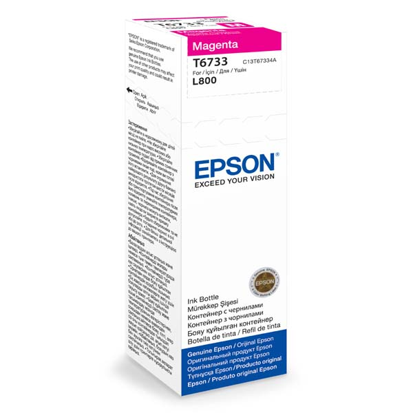 EPSON container T6733 magenta ink (70ml - L800, L805, L810, L850, L1800)