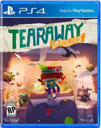 PS4 - Tearaway Unfolded