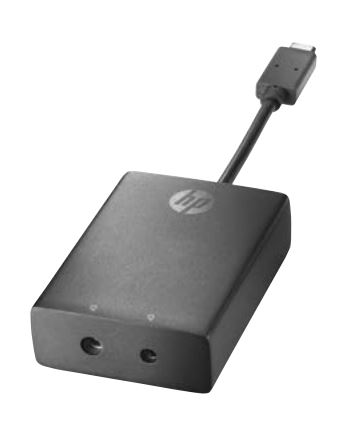 HP USB-C to 3 and 4.5mm Adapter