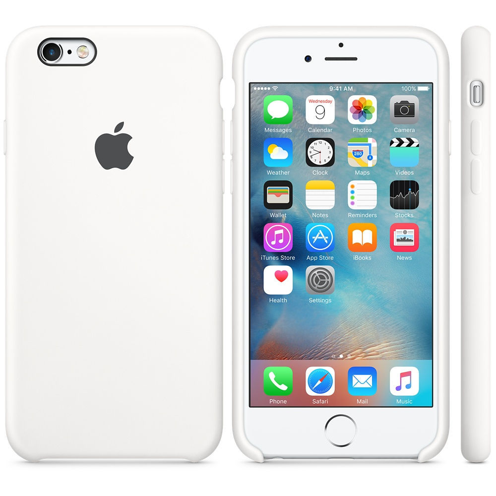 iPhone 6S Silicone Case White