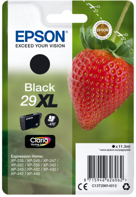 Epson Singlepack Black 29XL Claria Home Ink