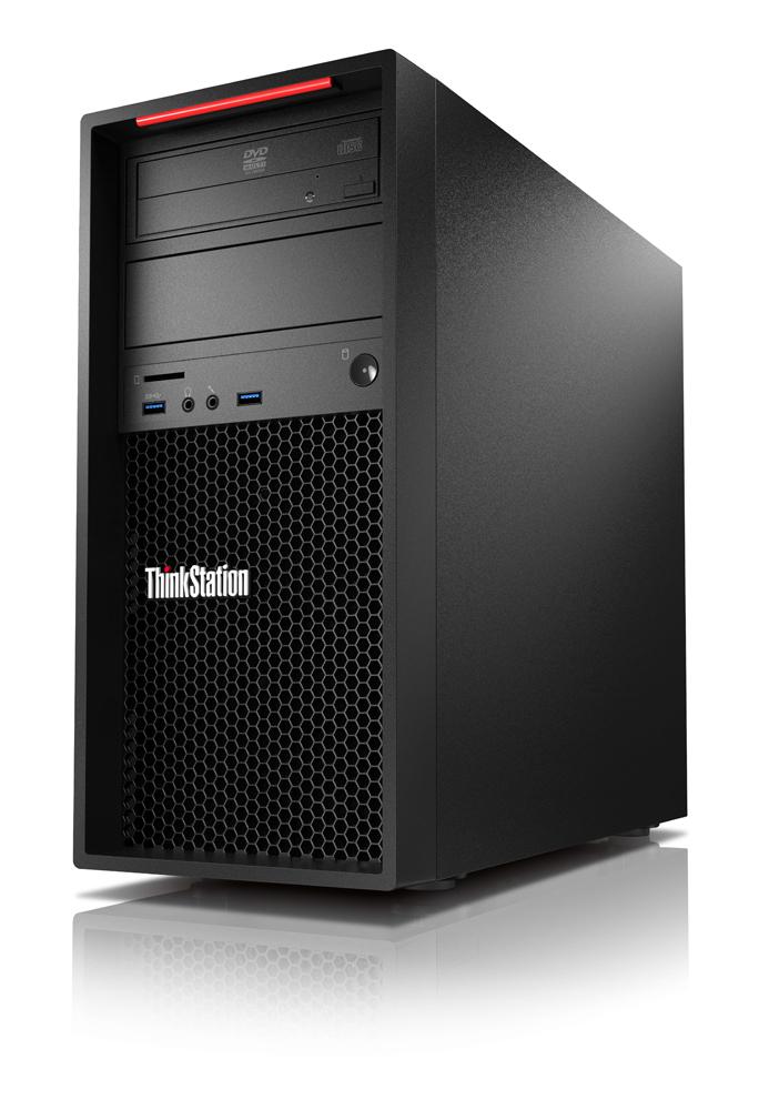 Lenovo ThinkStation P320 i7-7700 3,60GHz/16GB/256GB SSD/nVIDIA P4000/DVD-RW/Tower/Win10PRO