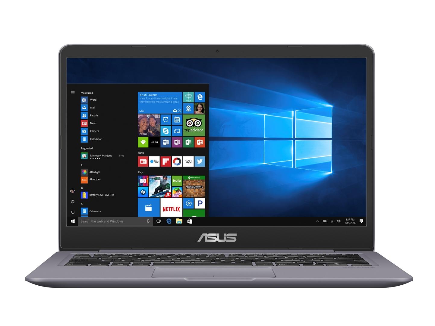 "ASUS S410UA-EB092T i5-8250U/4G/256G SSD SATA3/ /14"" TN/FHD/W10/Grey"