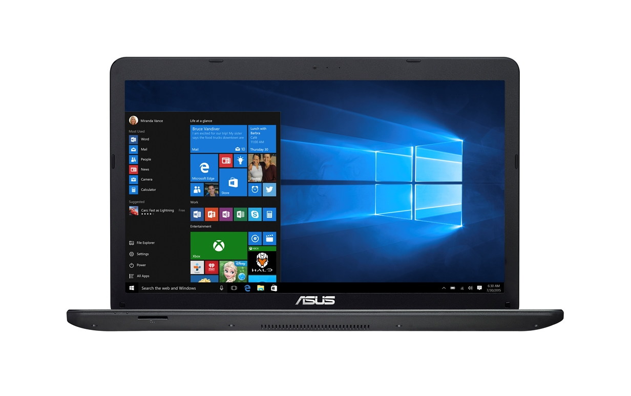 "ASUS X751NV-TY001T Pentium N4200/4GB/1TB/DVDRW/GeForce 920MX/17,3"" HD+ lesklý/BT/W10 Home/Black"