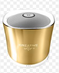 Speaker CREATIVE WOOF3, Bluetooth, gold