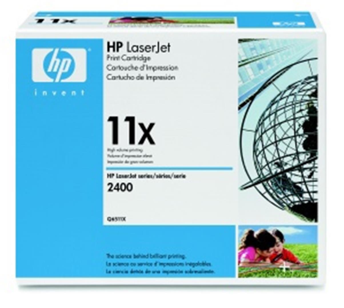 HP tisková kazeta černá velká, Q6511X