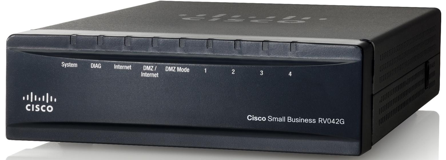Cisco Gigabit VPN 4-Port Router RV042G