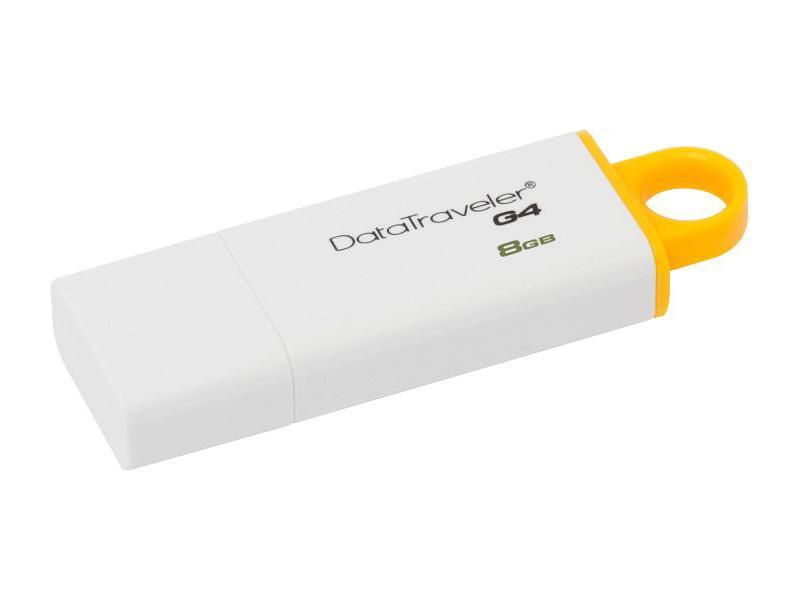 KINGSTON 8GB USB 3.0 DataTraveler I G4 žlutý