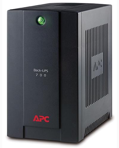 APC Back-UPS BX700UI, IEC, AVR, 390W, USB, záložní zdroj , 700VA