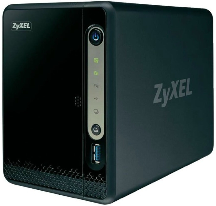 "Zyxel NAS326, 2-bay Single Core Personal Cloud Storage, Dual Core CPU 1.3GHz, 512MB DDR3 memory, 2 SATA II 2.5""/3.5""HDD,"