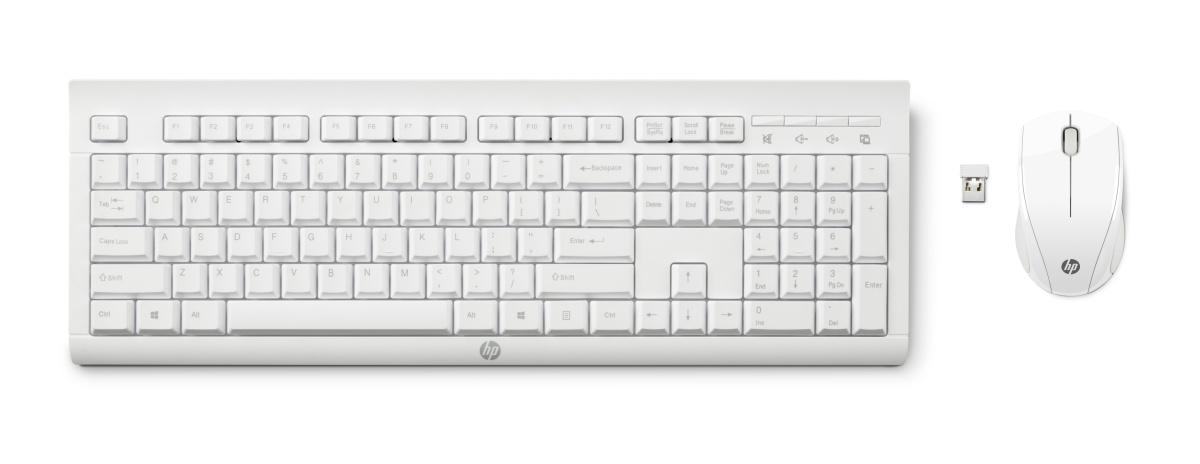 HP set klávesnice a myši C2710 bezdrátová, CZ